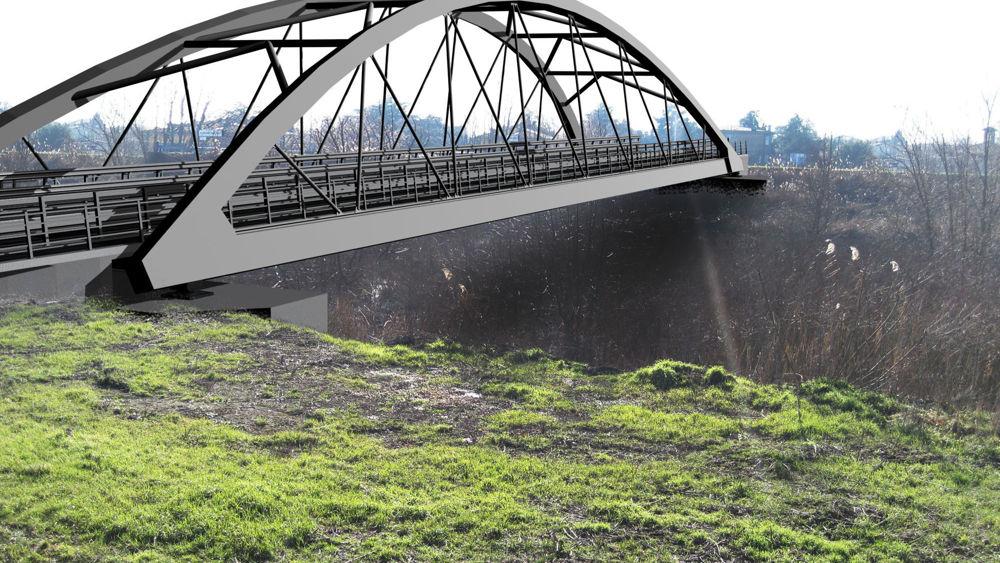 Bomporto via libera per la costruzione del nuovo ponte for Piani di idee per la costruzione di ponti