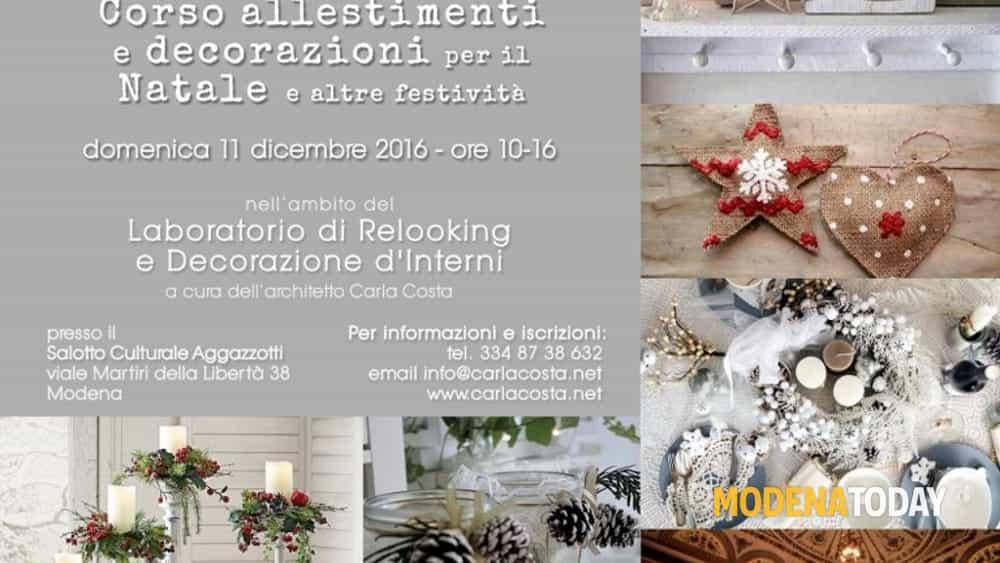 Corso allestimenti e decorazioni per il natale e altre - Decorazioni per il natale ...