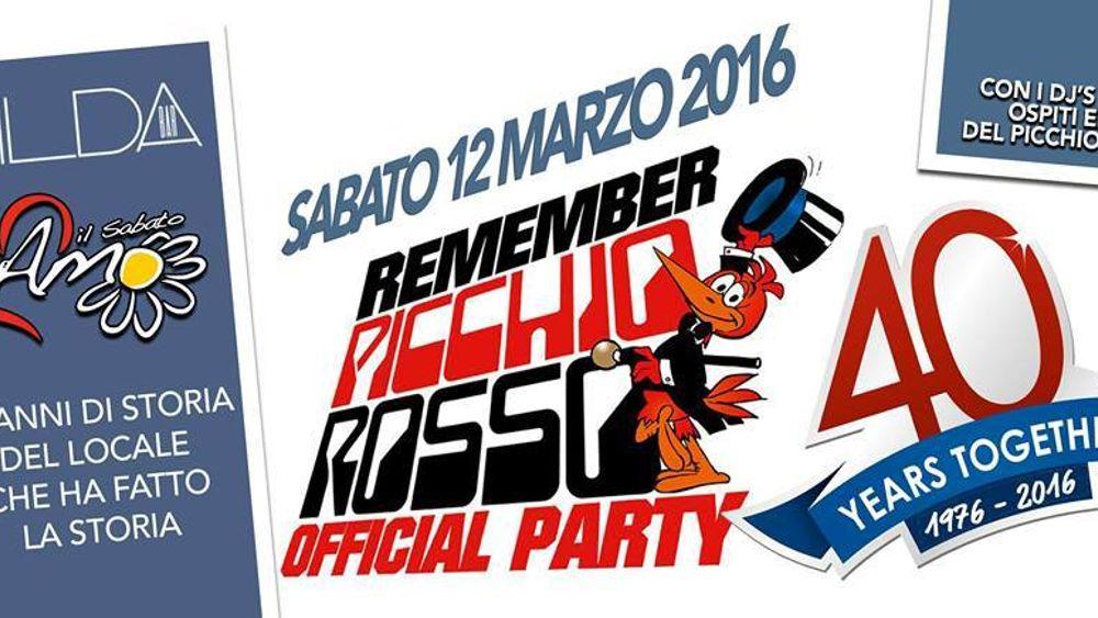 Buon Compleanno Picchio Rosso Disco Festeggia Al Gilda La Storia