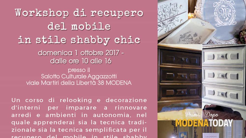 Recupero Mobili Shabby Chic.Workshop Di Recupero Del Mobile In Stile Shabby Chic Eventi