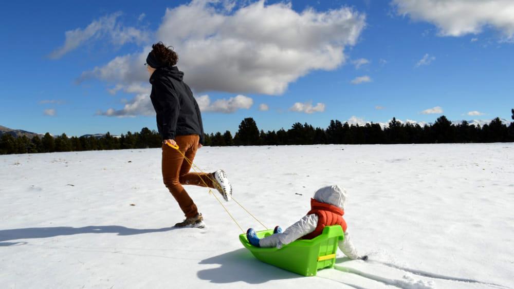 Di corsa sulla neve, prima Snow Run alle Piane di Mocogno ...