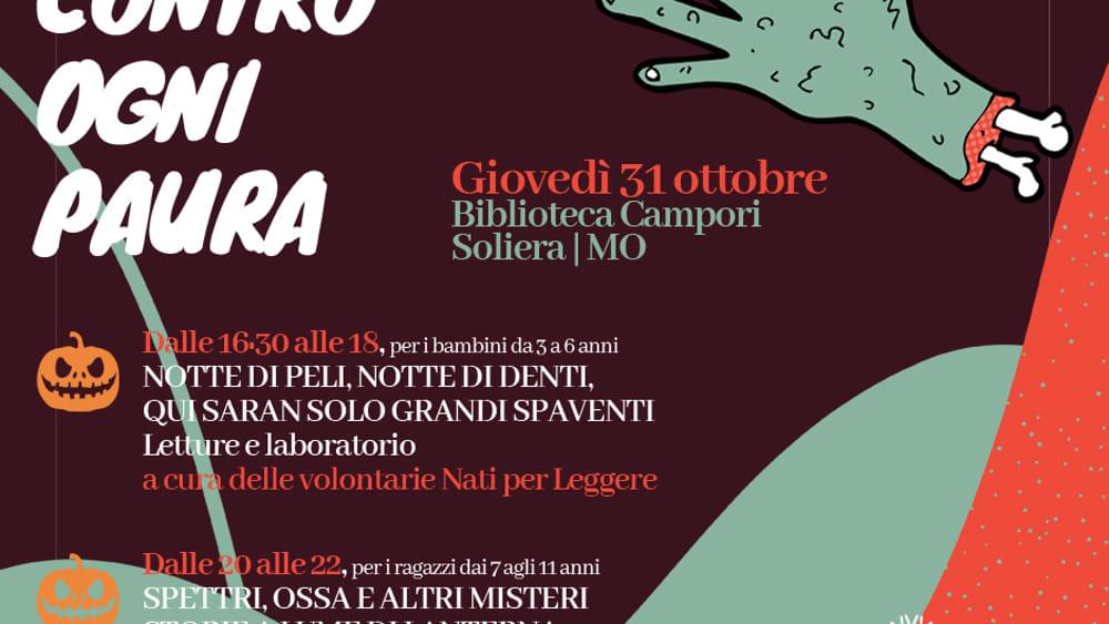 Una maratona di letture per Halloween alla Biblioteca Campori di Soliera - ModenaToday