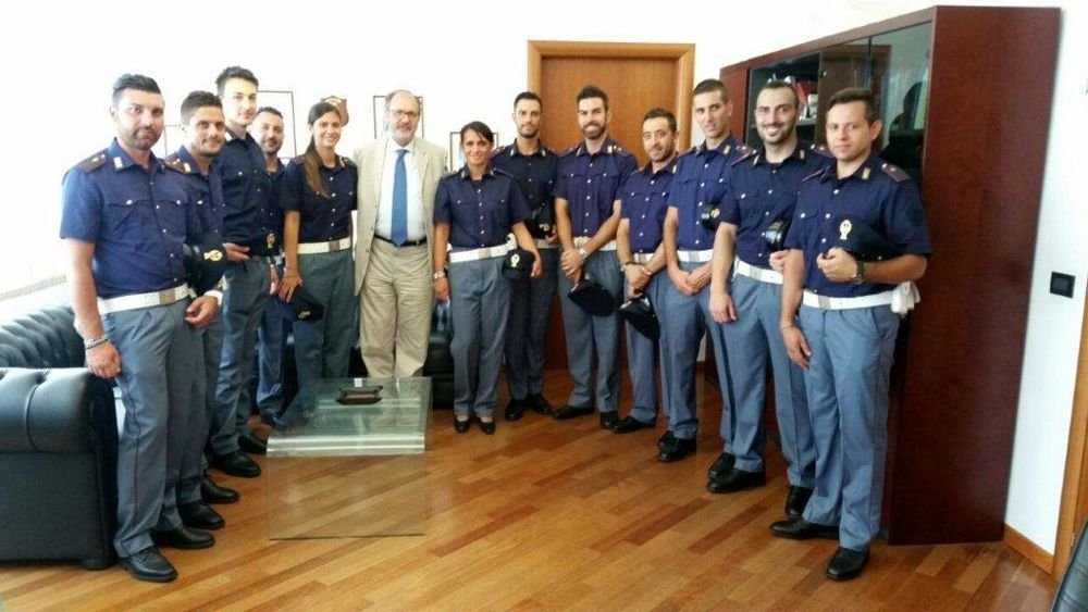 Task force antiterrorismo la questura accoglie 12 nuovi for Ministero interno r